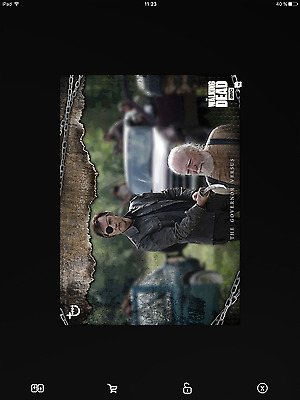 Topps the walking dead Governor versus open full set with award