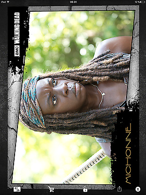 Topps the walking dead Close up full set with awards