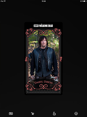 Topps the walking dead Full set rose with award serie 3
