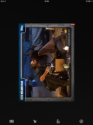 Topps the walking dead 712 blue full set with award