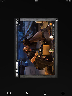 Topps the walking dead 712 black full set with award