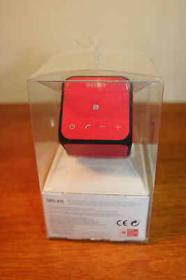 Boxed - Sony SRS-X11 RED  Portable Wireless Bluetooth/ NFC Speaker