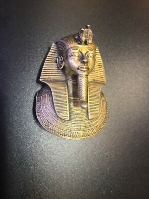 Rare Vintage MMA Sterling Silver King Tut Pendant 1976 Egyptian Ltd. Edition