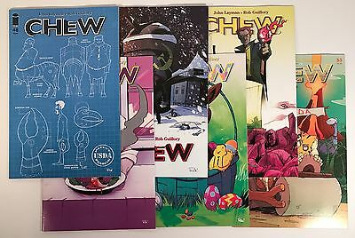 Chew Comic Book 6 Issue Run Lot #48 - #53, Image 2015