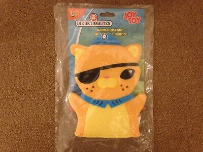 New Octonauts Kwasi Bath Mit Glove 16 x 22cm CBeebies Toy Wash TV Baby Mitt