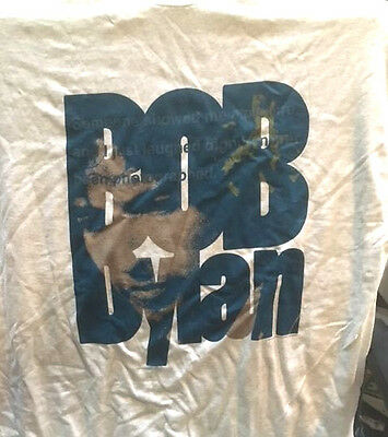 Vintage Original Bob Dylan Tour L/s T Shirt - Europe '95 - Brand New, Perfect!