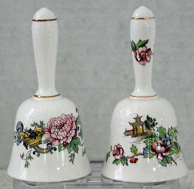 Lot 4 Bell Set Bone China Porcelain Staffordshire ArtMark Treasure Masters Colle
