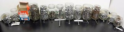 Vintage '60s-80s USA-Made 10 Lbs.+ Lot of Nails – Sorted and Most are NOS!