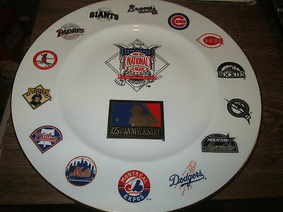 Professional Baseball 125th Anniversary Royal Doulton Collectors Plate Numbered