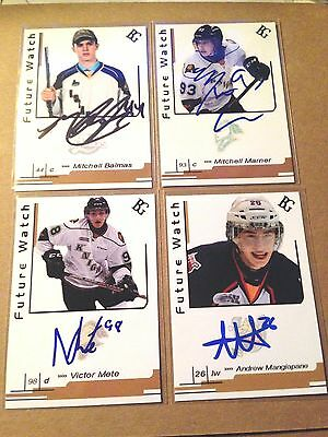 Victor Mete SIGNED Custom Photo Card LONDON KNIGHTS / MONTREAL CANADIENS