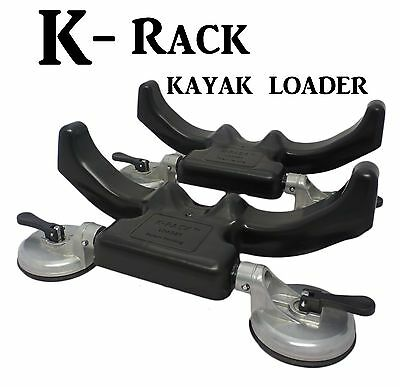 K-RACK Kayak Loader if you want to get it up try a K-RACK!