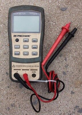 BK Precision 879 - Dual Display Handheld LCR Meter!! FREE SHIPPING!!