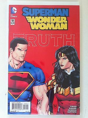 Superman Wonder Woman #18 Dark Truth Peter J. Tomasi Doug Mahnke Nm 1St Printing