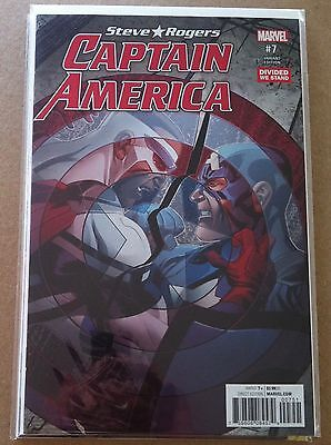 CAPTAIN AMERICA STEVE ROGERS #7 MIKE McKONE DIVIDED WE STAND VARIANT COVER NM