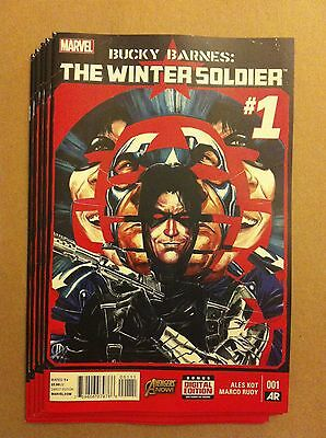 Bucky Barnes: The Winter Soldier #1 First Printing Near Mint 2014 Avengers Now!