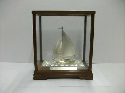 The sailboat of silver960 of Japan. #59g/ 2.08oz. TAKEHIKO's work.