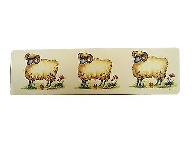 3 Sheep Waterslide Decals       Ideal For Crafts and Ceramics