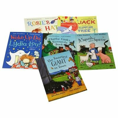10 Books The Julia Donaldson Collection Books Set Ziplock Pack