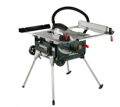Table Saw Cordless Portable Power Tool Bench Top Equipment Metabo 2000W 254MM