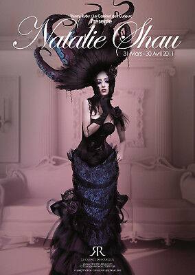 Natalie Shau - lot de 4 affiches collector - digital art