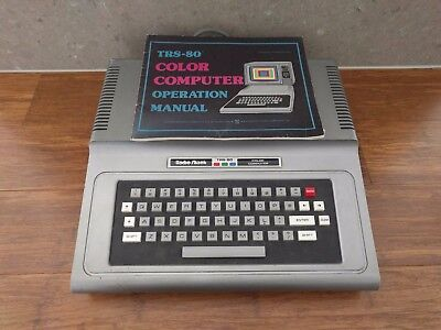 Radio Shack - TRS 80 - Color Computer - Manual Included