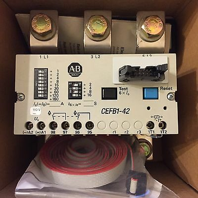 Allen Bradley Relay CEFB1-42-110V AC 160-400Amp Series A With Remote  Indication
