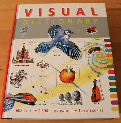 Visual Dictionary - very good condition-never read-595 pg of delight - hardcover