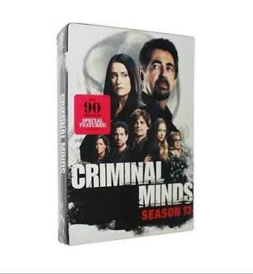 Criminal Minds The Season 12 6DVD 2017 Brand New Send free