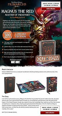 Magnus the Red: Super Limited Edition Hardback: GW Black Library.