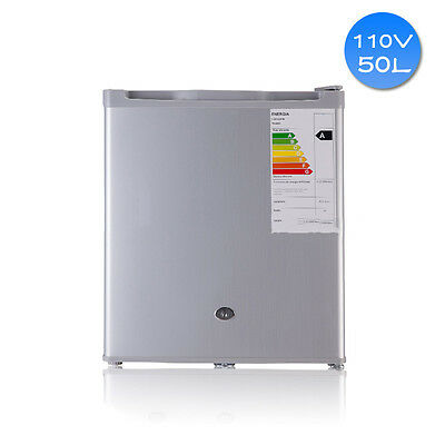 Silver Gray 110V 60HZ Marine Boat Refrigerator 50L Single Door Mini Freezer WCV