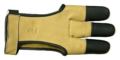 Elite Shooting Glove Top Glove from kangaroo leather finger protection