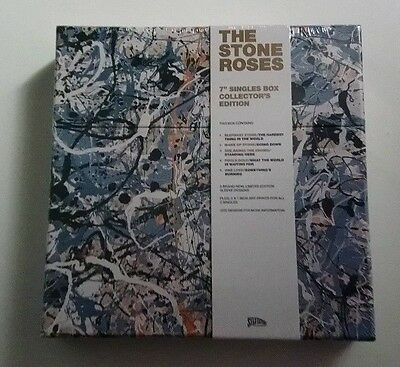 """The Stone Roses - 7"""" Singles Collection Vinyl Box New Sealed Rare"""
