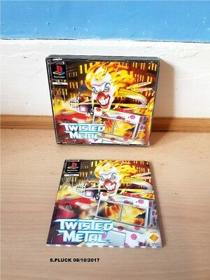 Twisted Metal PS1 Case/Inlays & Manual Only No Game