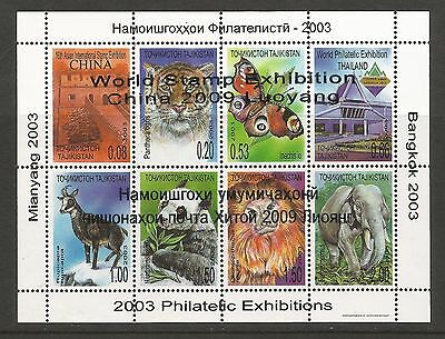 Tajikistan 2009, Luoyang, World Stamp Exhibition China M/S. MNH
