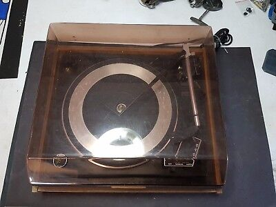 Vintage Record Player, Garrard Syncro Lab 65B Record Turntable, Old Stereo