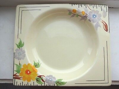 Art Deco Hand Painted Early Clarice Cliff Rhodanthe - The Biarritz  Soup 1 of 5
