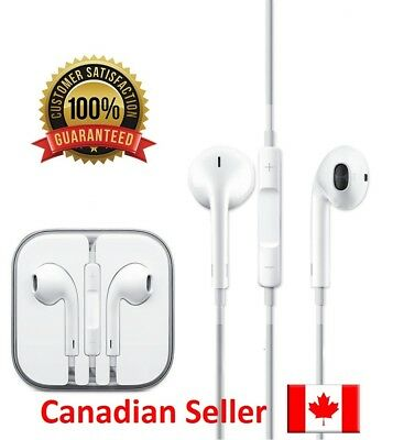 OEM Original Apple EarPods Earphones With Remote and Mic for iPhone 6S 6 5 5S 4