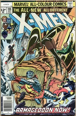 Uncanny X-Men #108 - FN/VF - 1st John Byrne Art On X-Men