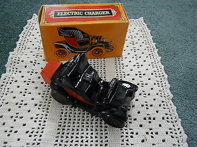 Electric Charger Leather After Shave Full in Box