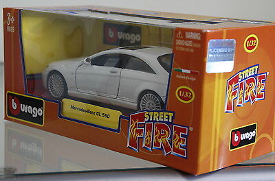 Diecast Burago Mercedes-Benz CL 550 for Scalextric Scenery
