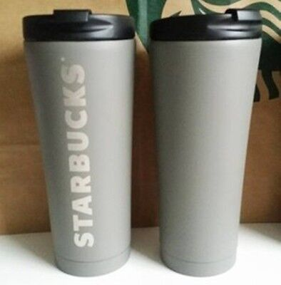 STARBUCKS Stainless tumbler, Summer 2017,16oz, grey, new with sku
