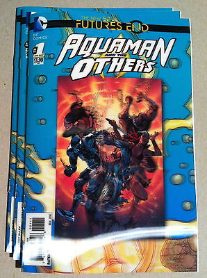 Future's End Aquaman & The Others #1 3-D Lenticular Hologram Cover Nm 1St Print