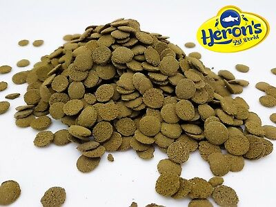 HERONS Spirulina Algae Wafers [100g] TROPICAL FISH FOOD Pleco Multi Cory Catfish