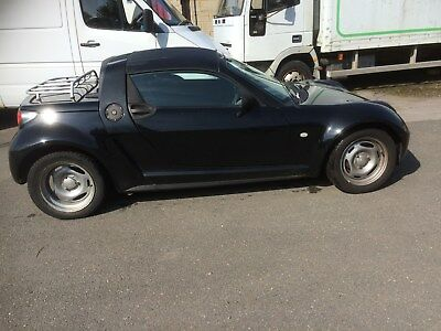 Smart Roadster/coupe,brabus  Black Hard Top With Fitting Kit