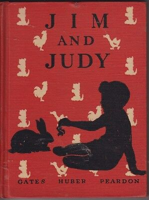 Jim And Judy Vintage School Book With A Sealyham Terrier