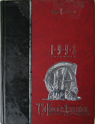Vintage Cat Book  The Cat Fanciiers' Association Inc.  1998 Yearbook