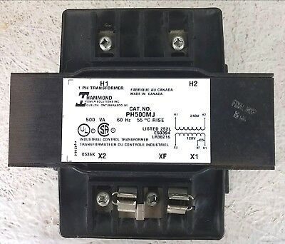 Hammond PH500MJ Transformer 500VAC