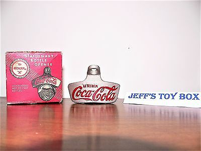 Coca Cola Starr X Stationary Bottle Opener--With BOX
