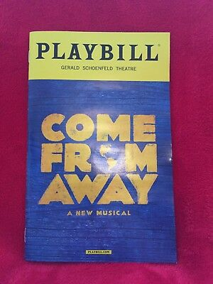 Broadway Playbill - Come From Away, October 2017, Jenn Collella