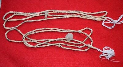2 strand, 32 inches each, tiny Mali clay beads, 400-500 years old